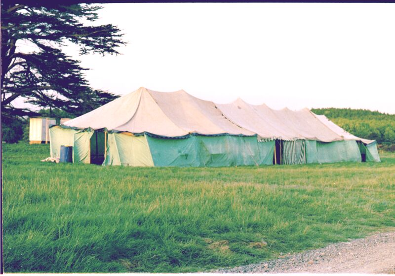 Ex Army or Army surplus marquees and Tentage